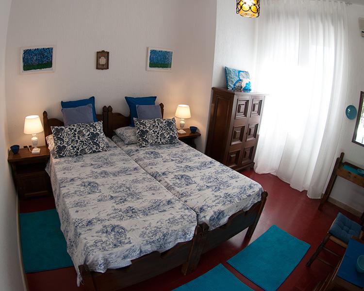 Camera blu Fiordaliso